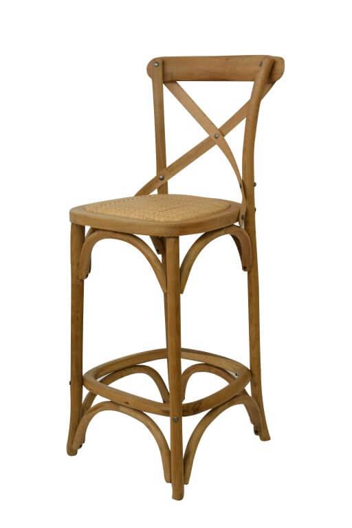 כיסא בר דגם קרוס